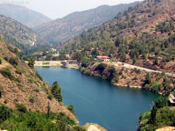 №4. Особенный восторг вызвало горное водохранилище.