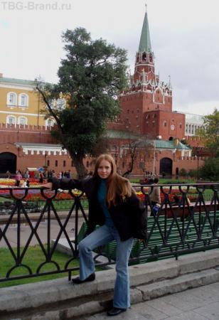 Впервые у Кремлевских стен