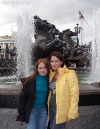 Впервые вместе шагаем  по Москве