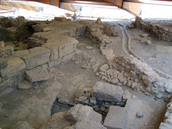 Римский водопровод на вилле в Курионе