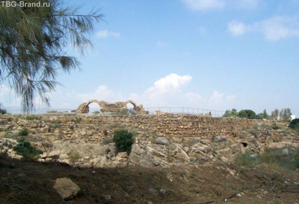 Развалины в предместьях Пафоса