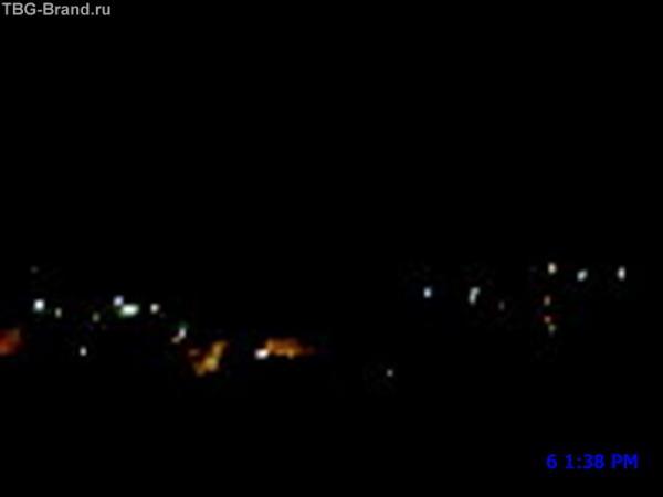 Это Лазаревское поздней ночью