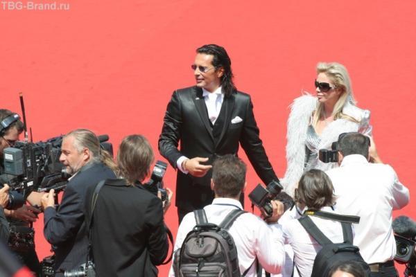 Президент компанииФабрис Керерве с женой
