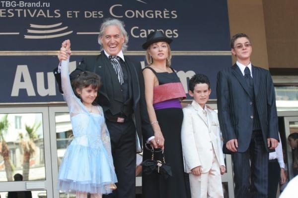 Вице-президент Эрик Клер с семьей