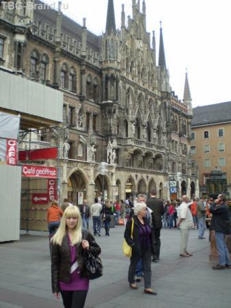 Городская ратуша в Мюнхене