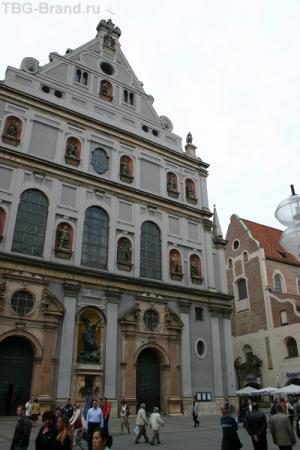 Церковь Св.Михаила на ул.Нойхаузер, Мюнхен