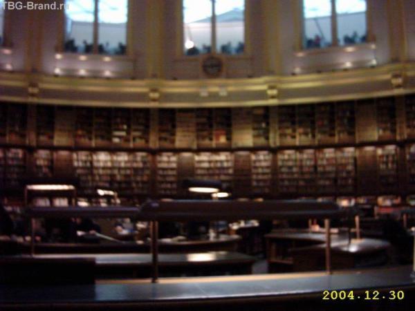 В библиотеке Британского музея