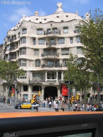 Барселона. Каса Мила
