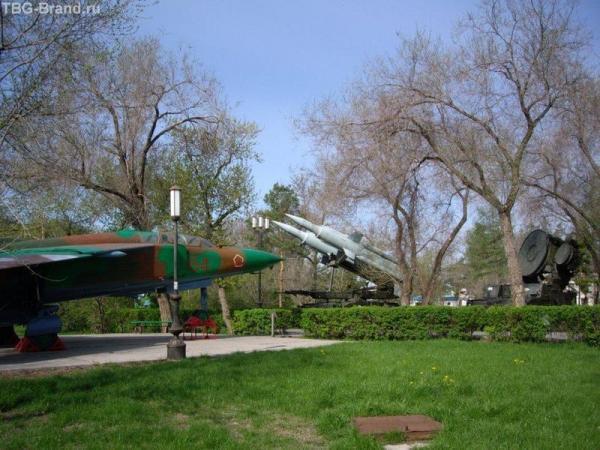 Музей под открытым небом. Парк Фрунзе