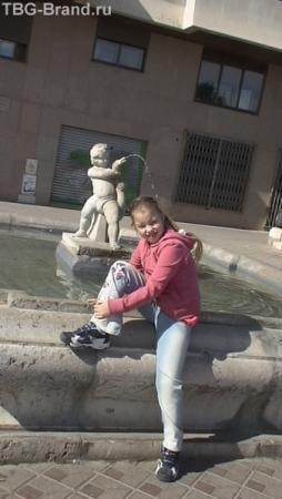 У фонтана. Таррагона