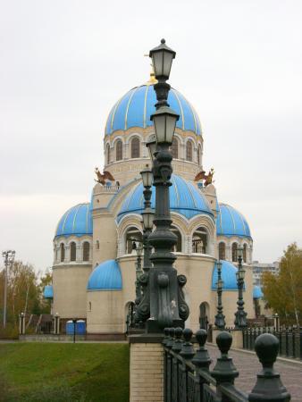 Борисовские пруды. Храм