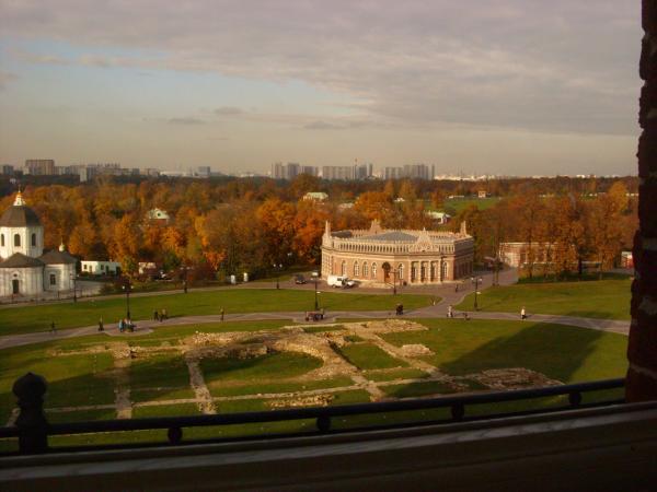 Оказывается внутри музея фоткать неззя даже вид из окна