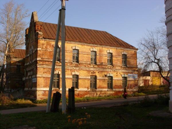 здания возле вокзала