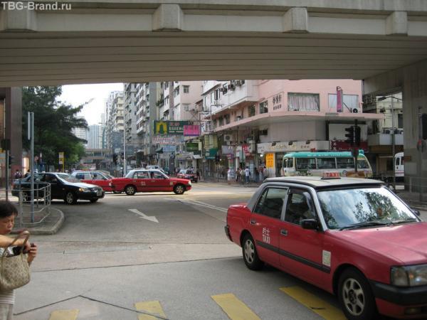улицы, такси