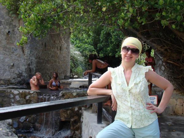 Термальный бассейн (остров Сент-Люсия)