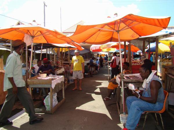 Рынок специй (Сент-Джорджес остров Гренада)