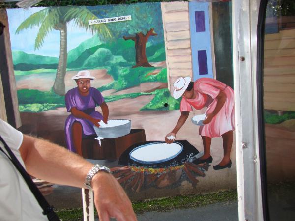Заборная живопись (остров Тортола)