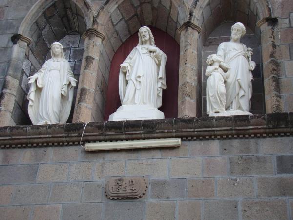 Фронтон Католического собора (Розо, остров Доминика)
