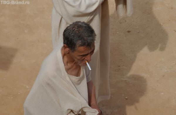 римские патриции с папиросками