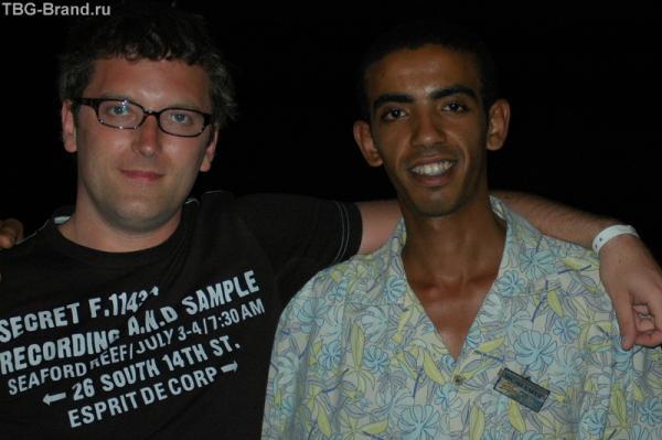 лучший друг любого туриста - бармен!