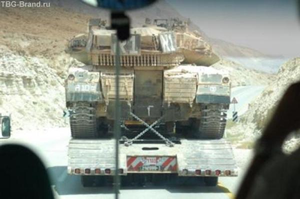 танки на ливан