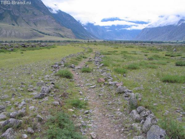 Древняя дорога.