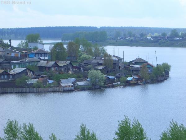а это вид с того места, где стоит дом купца Демидова
