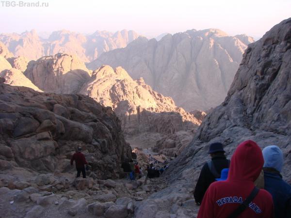 горы, опять Синайские