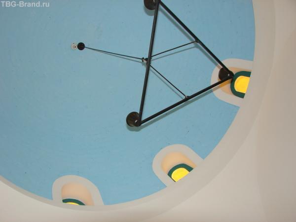 купол над кроватью, не совсем понятно, но по другому не получилось снять