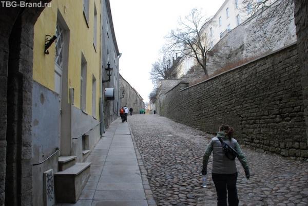 Путь из нижней части Старого города в верхнюю