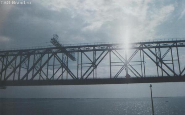 Саратовский Ж-Д мост через Волгу