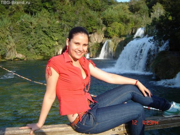 водопады всегда так романтичны...