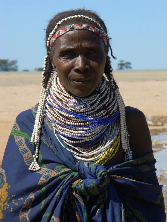 Женщина племени зембу
