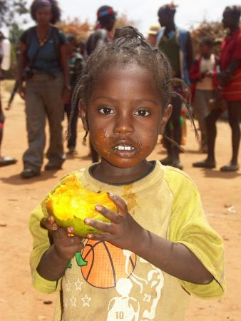 Любительница манго