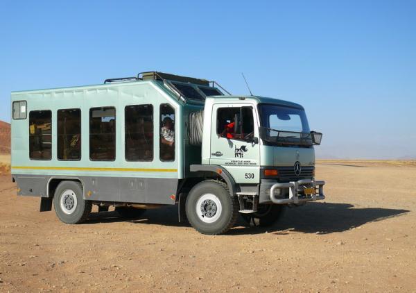 Транспорт в Африке - Намибия