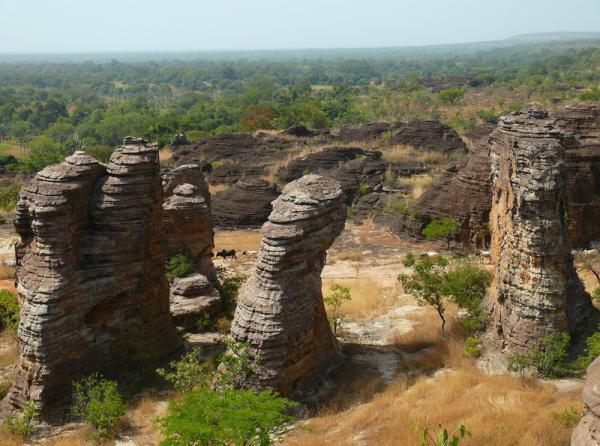 Ландшафты Африки - Буркина Фасо