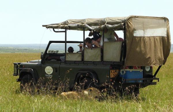 Транспорт в Африке - Кения