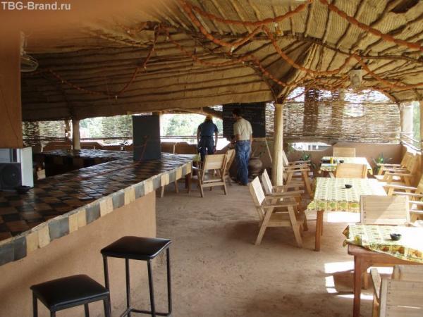 Ресторанчик на крыше отеля