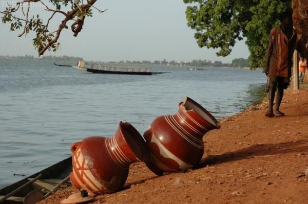 Набережная реки Нигер