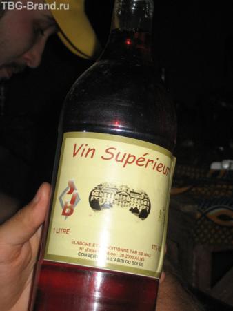 Местное вино - на любителя...