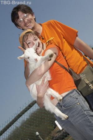 Идет коза рогатая за малыми ребятами... Фото - Русакова Р.
