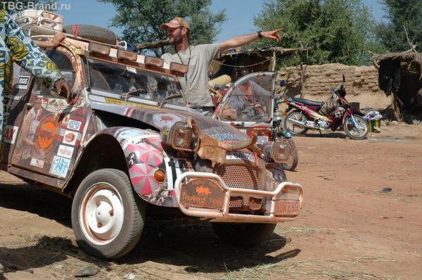 """Бельгийские автомобилисты - """"Ударим автопробегом по африканскому бездорожью!"""""""