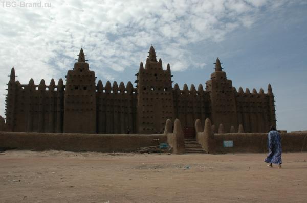 Большая Мечеть в Дженне.