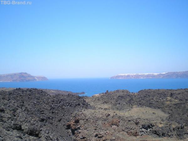 море над вулканом...