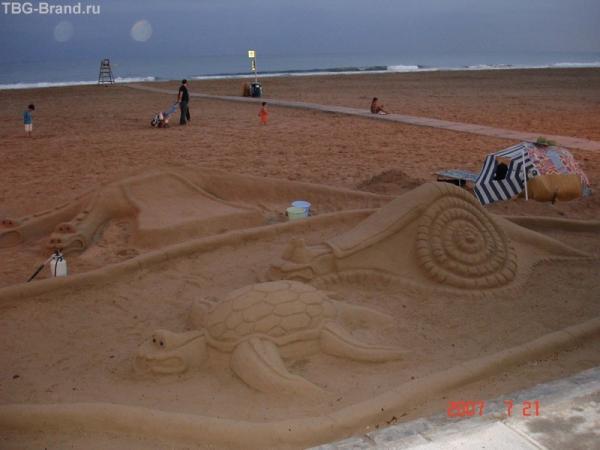 Звери на пляжах Камбрильса