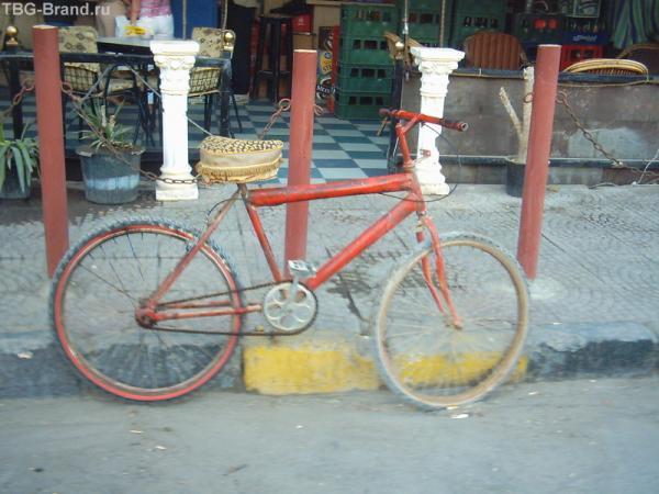 Велосипеды в Египте не воруют. Бо незачем