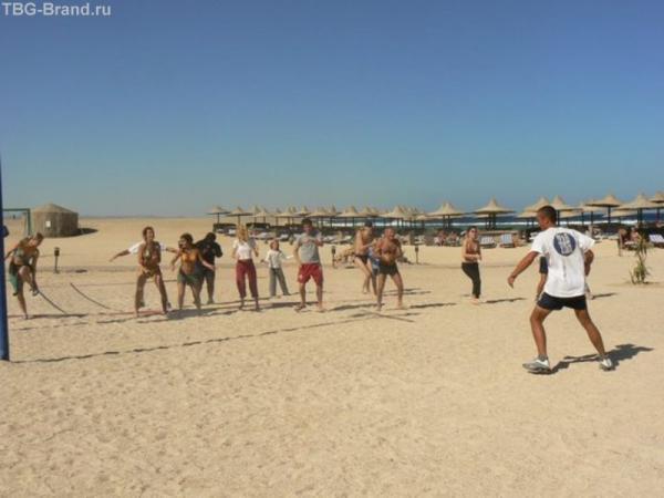 Пляжные танцы
