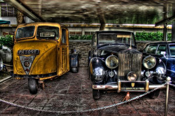 машины в музее Пинанга