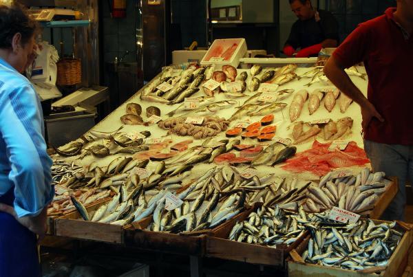 Рынок в Салониках
