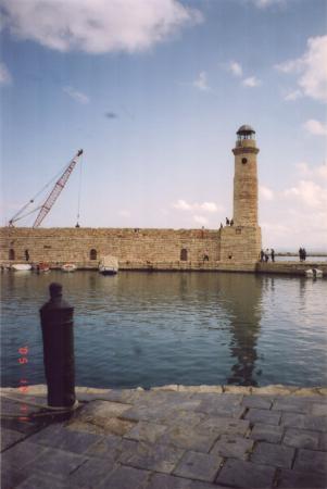 старинный венецианский порт в Ретимно